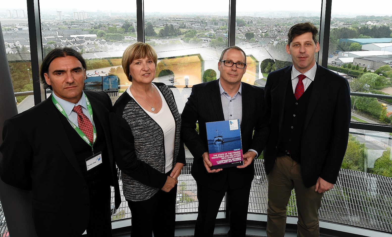The launch of a new report for Scottish support for Croatia's fishing industry