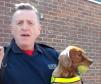 Murphy the fire puppy