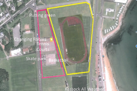 Plans for the new sports development