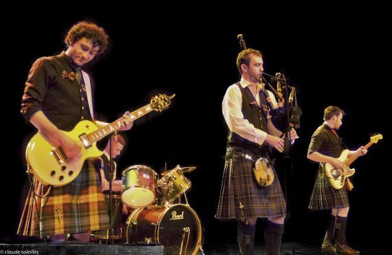 Celtic rockers Gleadhraih are among the acts playing at this year's Pitmedden Music Festival.