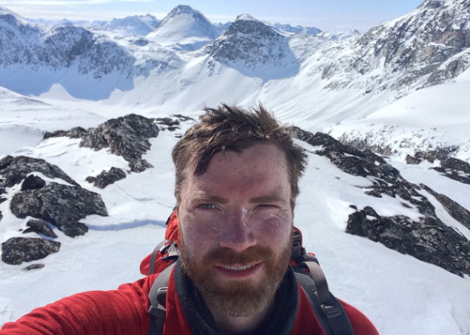 Luke Robertson was the first Scot to complete and unaided solo expedition to the South Pole