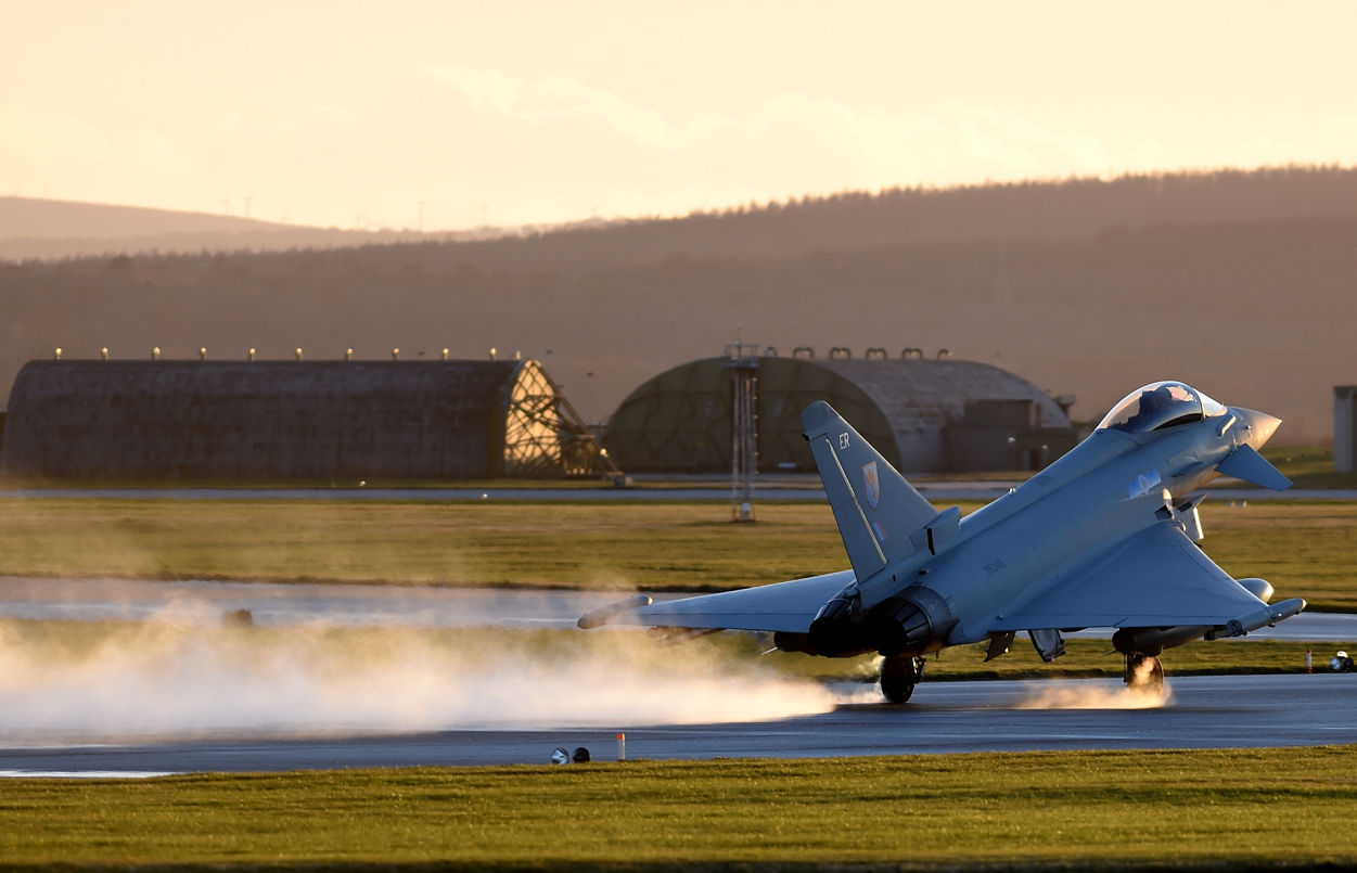 National competition held at RAF Lossiemouth