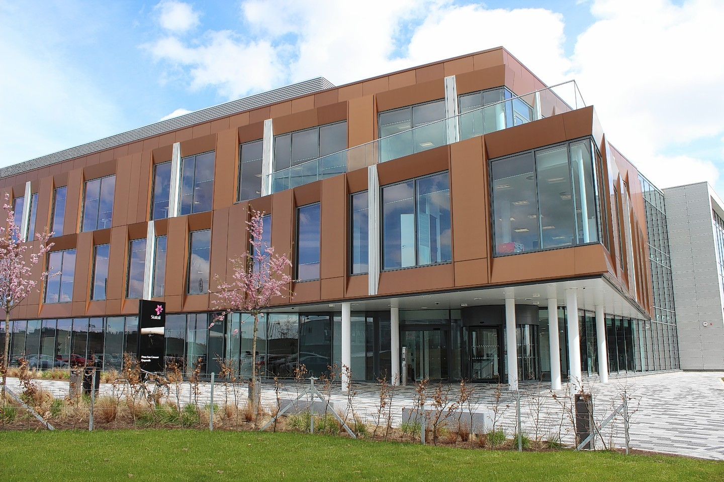 Statoil have moved to new offices in the Prime Four business park at Kingswells