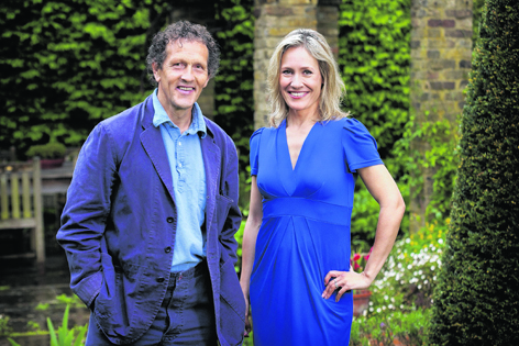 One of Sophie's upcoming gigs is fronting the peak coverage of the RHS Chelsea Flower Show. Dream team Monty Don (above), Joe Swift, Nicki Chapman and James Wong will join her