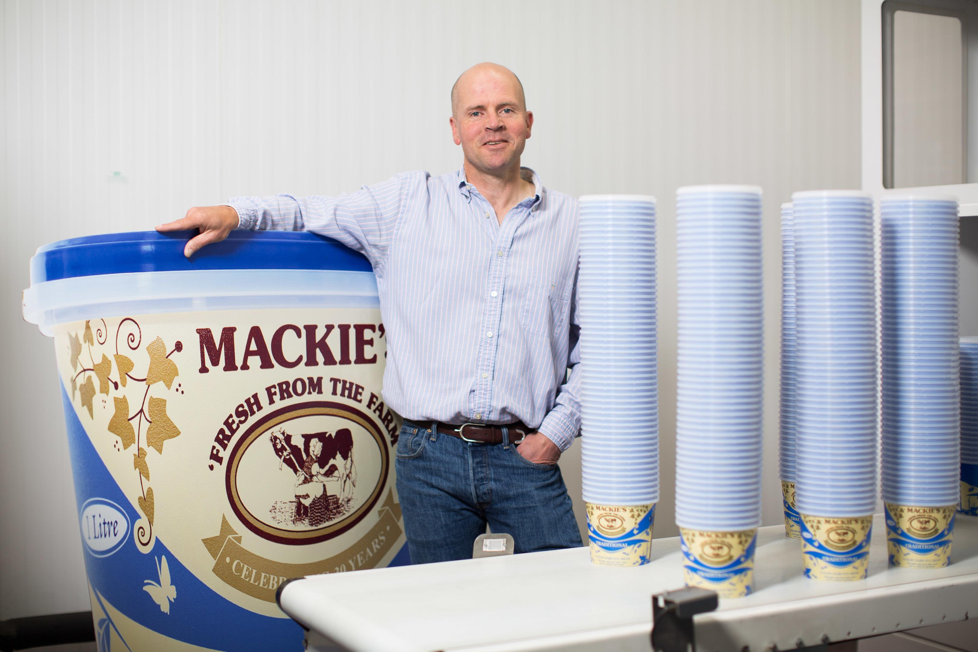 Mackie's Ice Cream (Photo: Ross Johnston/Newsline Media)