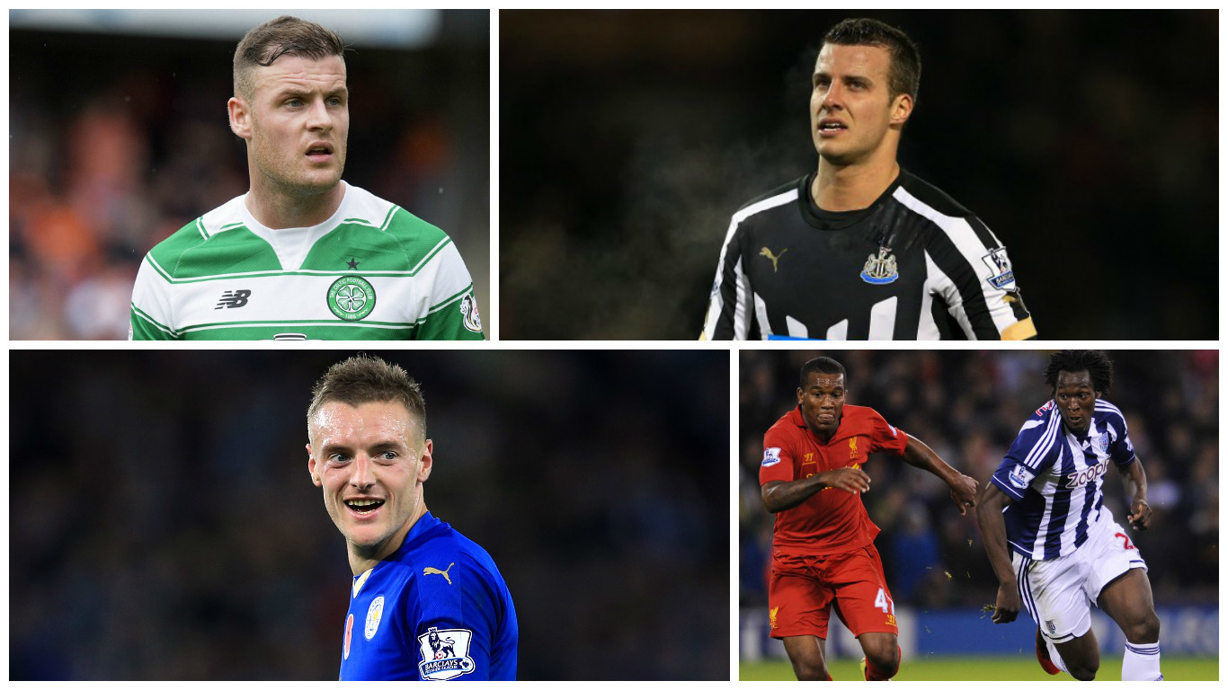 Anthony Stokes, Steven Taylor, Jamie Vardy and Andre Wisdom have all been linked with moves today