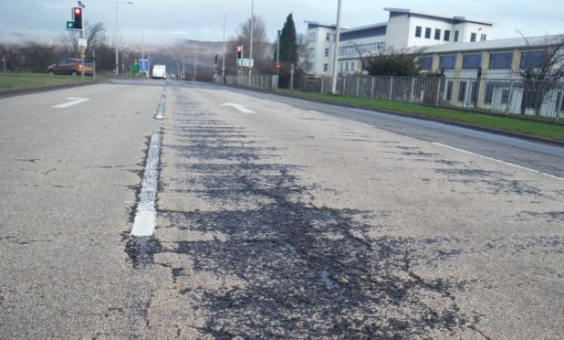 Caol junction, which is one of the sections of the A830 due to be resurfaced this month