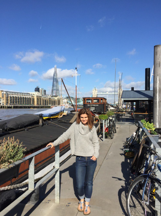 A picture of Jo Cox shared by her husband, Brendan