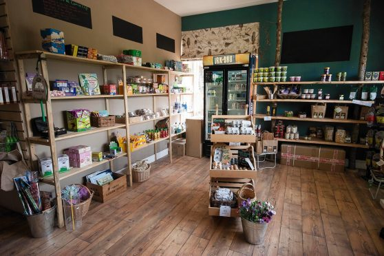 The new 100-Mile Store at Comrie Croft