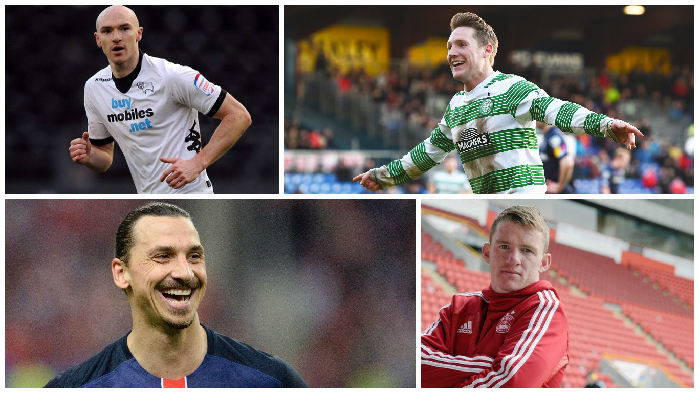 Conor Sammon, Kris Commons, Zlatan Ibrahimovic and Jonny Hayes have all been linked with moves today
