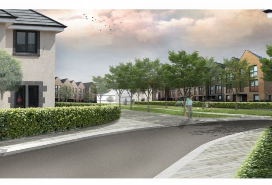 Artistic impression of the new Cala development.
