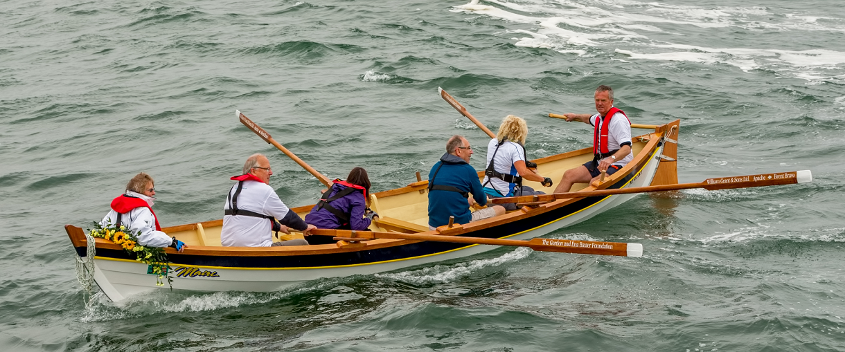 Cullen Sea School (CSS) will play host to The King's Swimmers, a crew of athletes who specialise in open water swimming