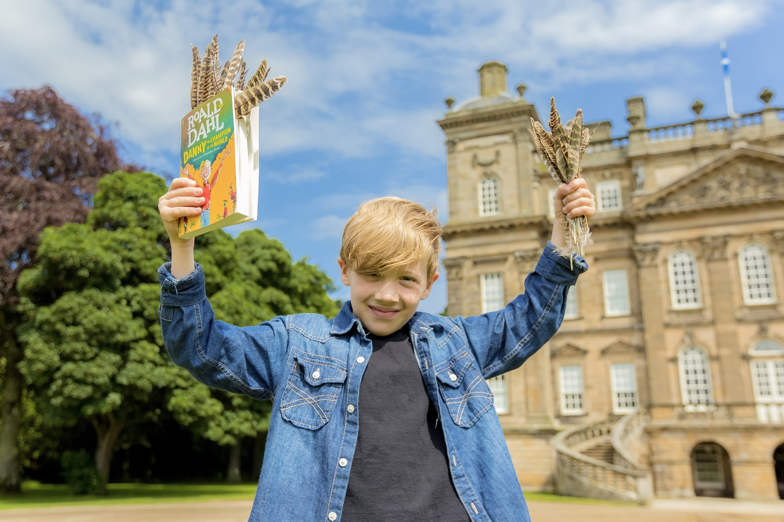 Danny - the Champion of the World - Pictured: Sonny Crichton (8)  Image by: Malcolm McCurrach