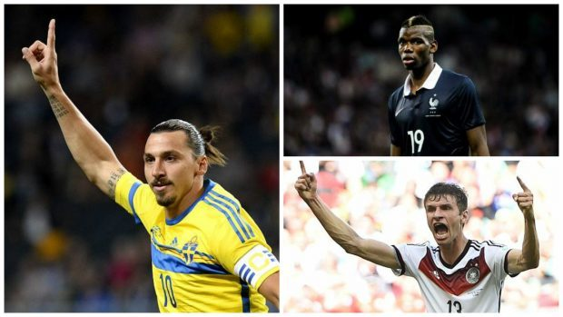 Ibrahimovic, Pogba and Muller will play key roles