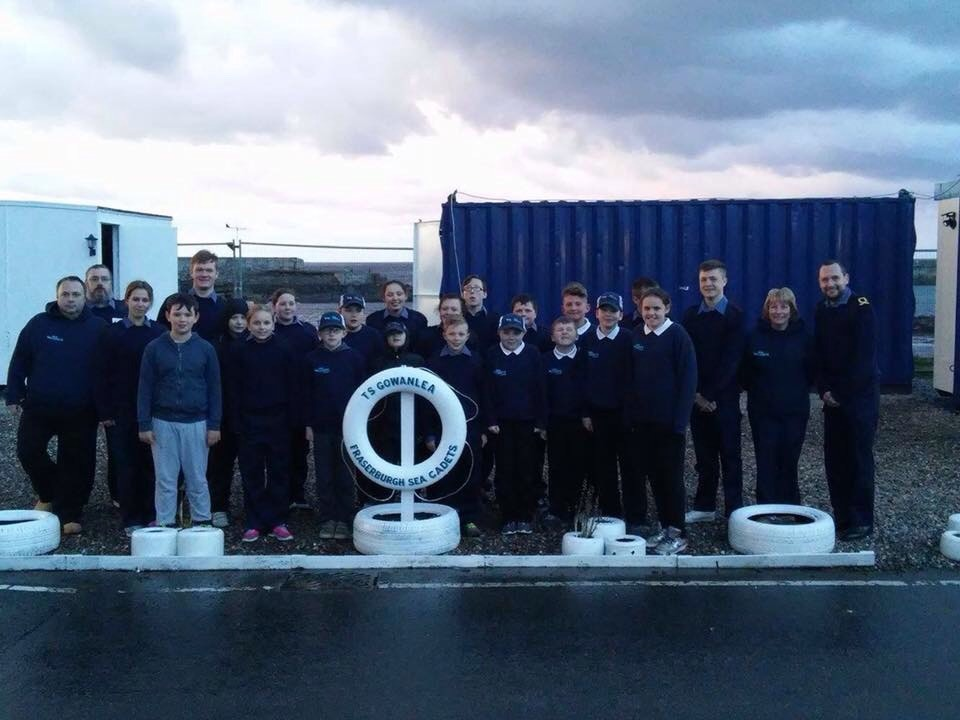 The Fraserburgh Sea Cadets
