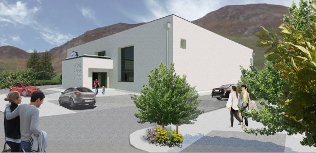 An artist's impression of the new look Gairloch Heritage Museum