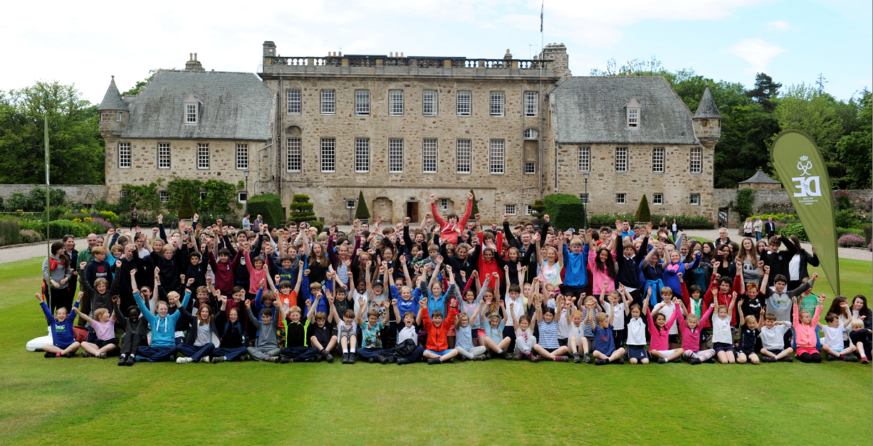 Pupils at Gordonstoun completed a Duke of Edinburgh Challenge involving three different lengths of hike according to age and ability, all finishing at Gordonstoun. Picture by Gordon Lennox.
