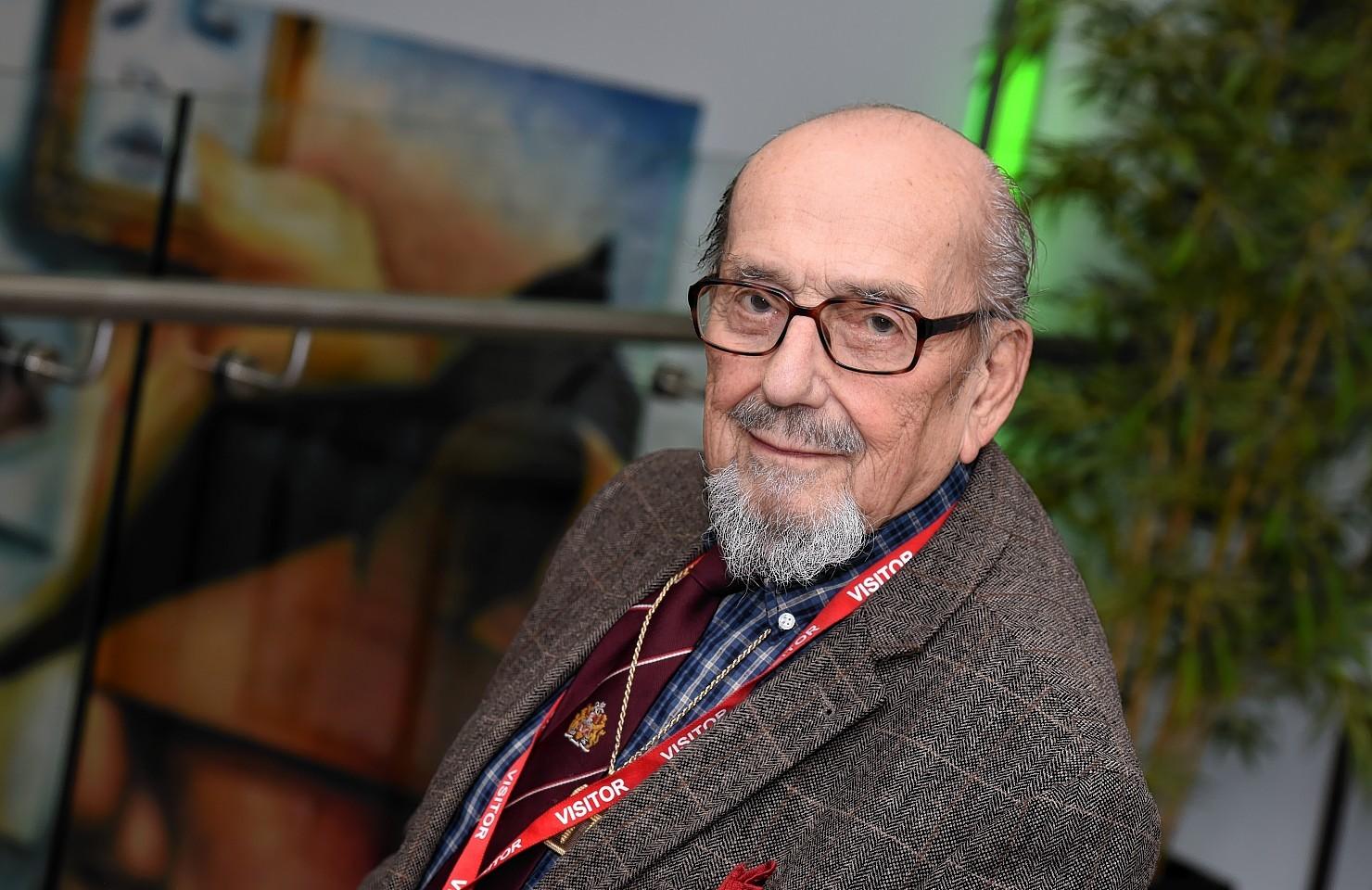 Holocaust survivor Harry Bibring