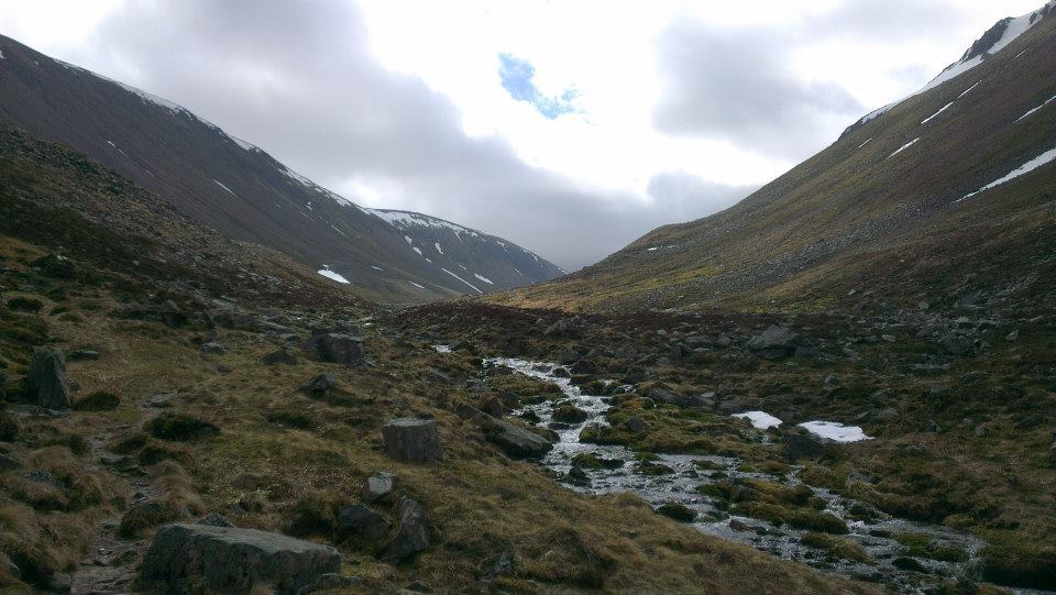 The Lairig Ghru in the Cairngorms