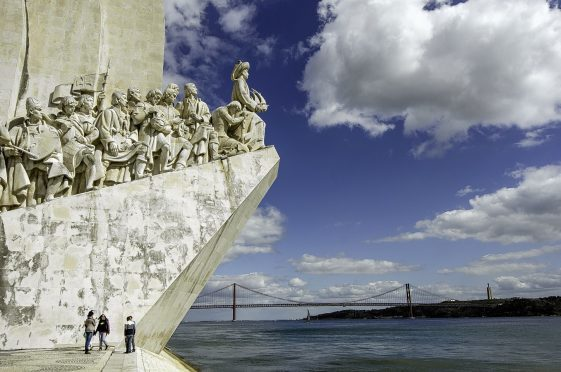 Monument to the Discoveries, Belem, of Lisbon