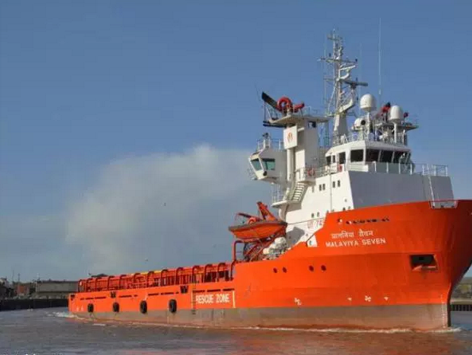 The vessel was detained at Aberdeen harbour.