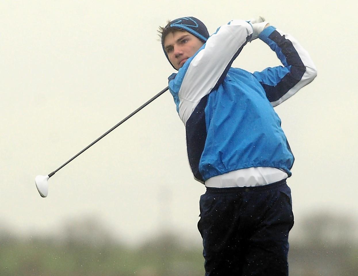 Marc Watt of Inverallochy Golf Club