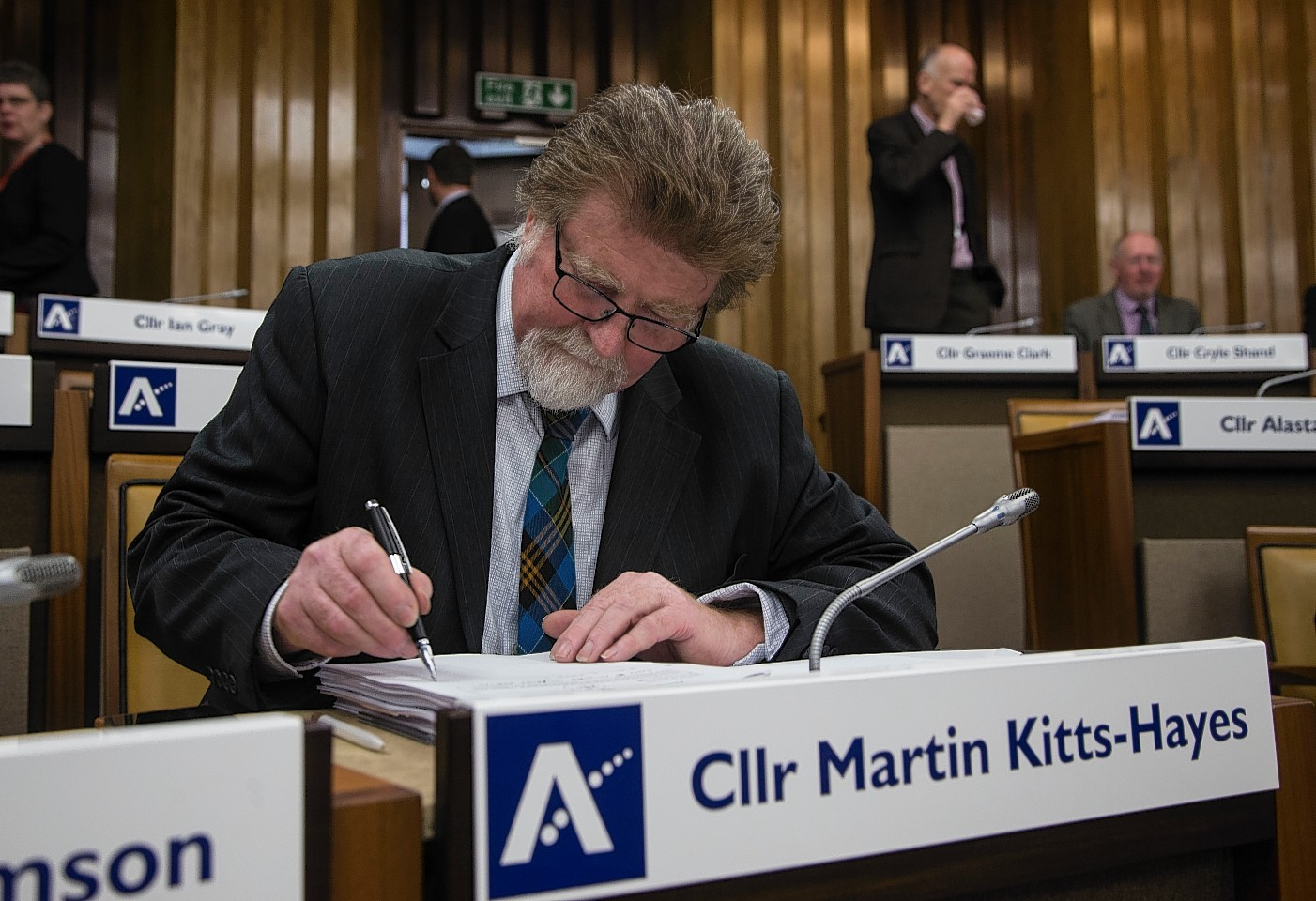 Former council co-leader Martin Kitts-Hayes