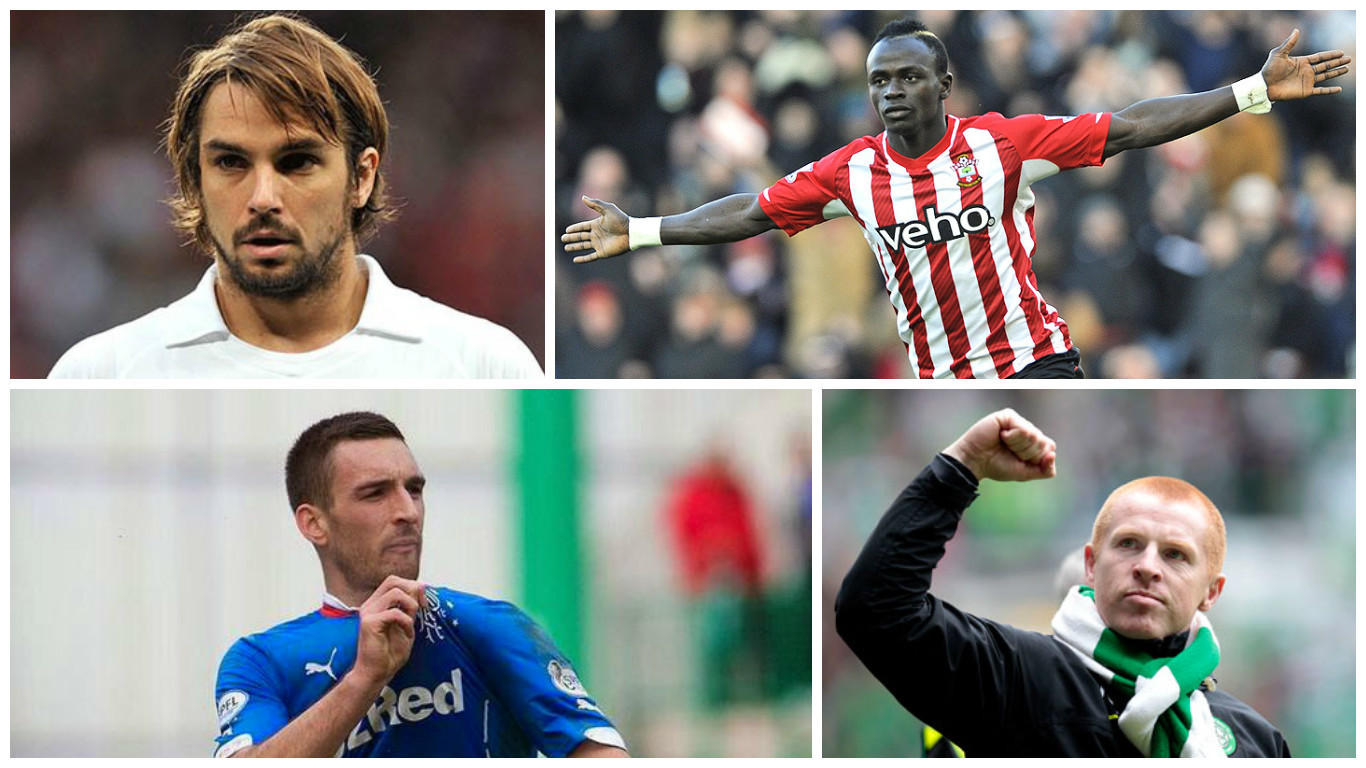 Niko Kranjcar, Sadio Mane, Lee Wallace and Neil Lennon have all been in the headlines today