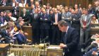 Prime Minister David Cameron makes a statement to MPs in the House of Commons