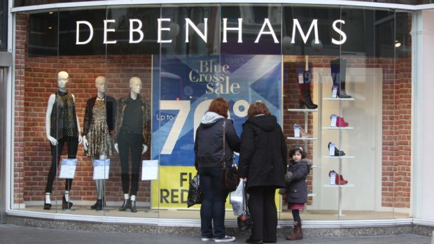 Debenhams is reportedly planning to close as many as 20 stores this year.