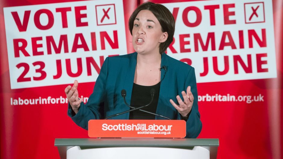 Kezia Dugdale has said a deal with the nationalists wouldn't work