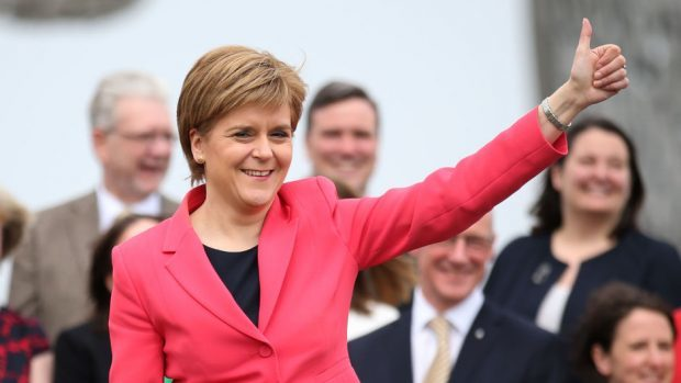Nicola Sturgeon urged Scottish voters not to be complacent