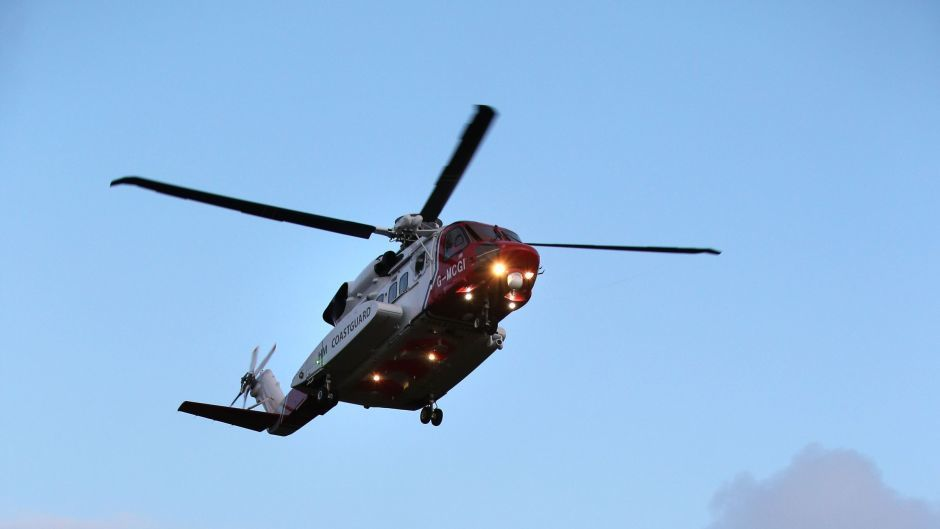 A search and rescue helicopter based at Sumburgh attended the incident.
