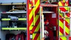 Fire crews were called to a crash on the A857 at Borve