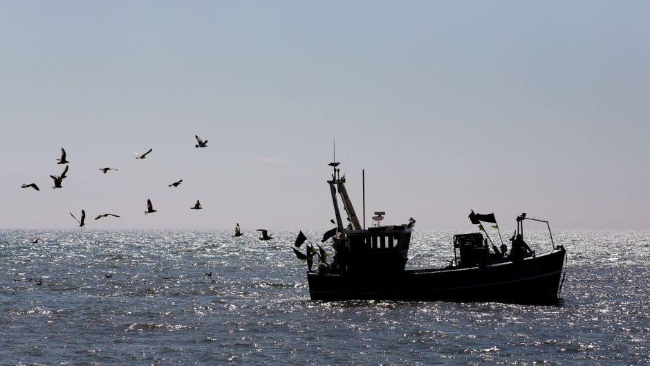 North Sea fishing