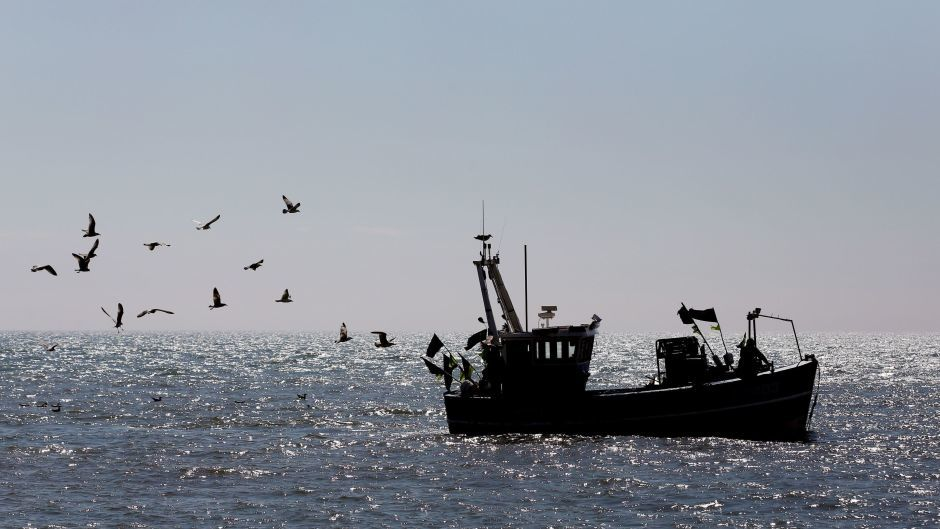 North Sea fishing