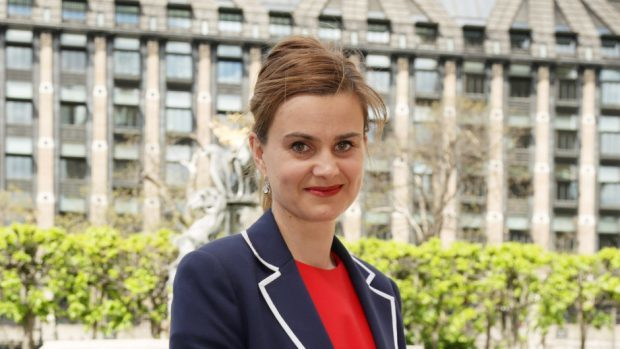 Jo Cox was shot and stabbed in Birstall.