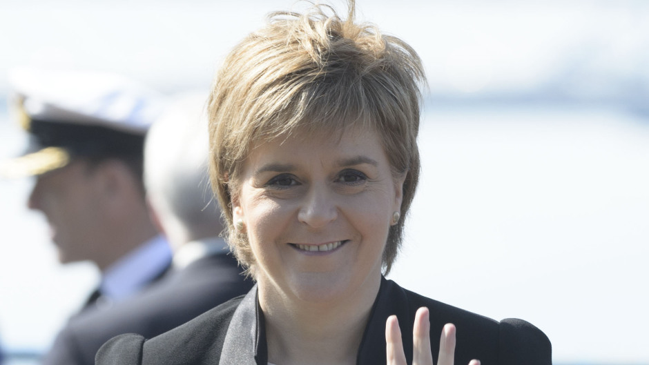 Nicola Sturgeon made the comments during FMQs