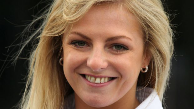 Stephanie Inglis has arrived back in Scotland
