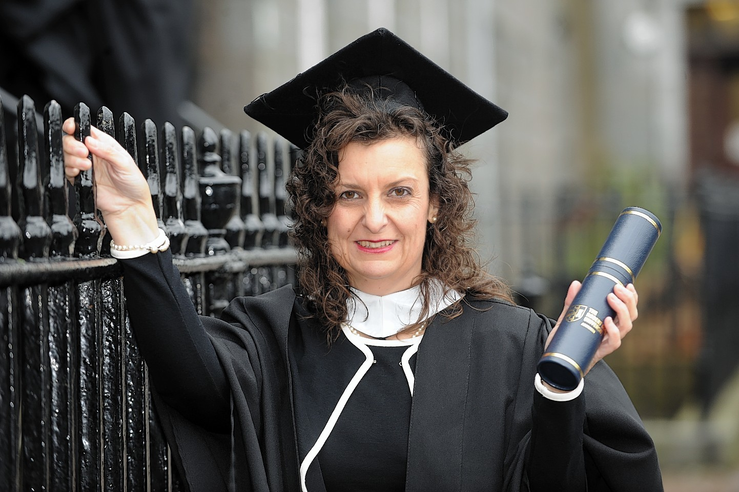 Patricia Connolly at her graduation in 2008.