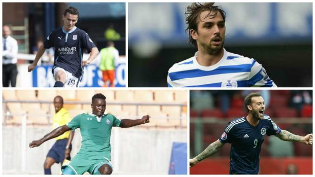 Paul McGinn, Niko Kranjcar, Khalid Aucho and Steven Fletcher have all been linked with moves today
