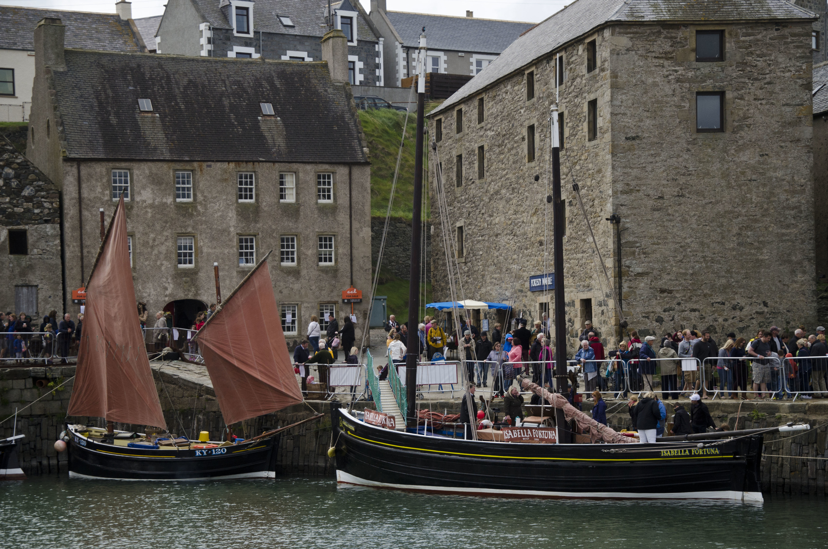 The Scottish Traditional Boat Festival takes place at Portsoy on June 24 and 25