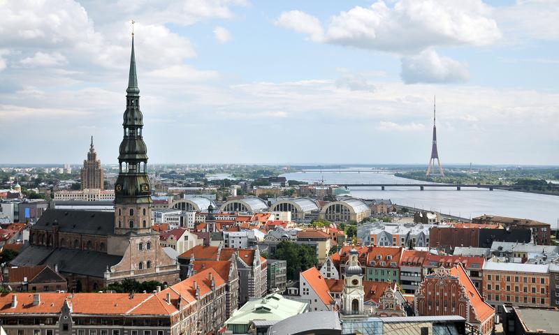 Riga, Latvia's capital