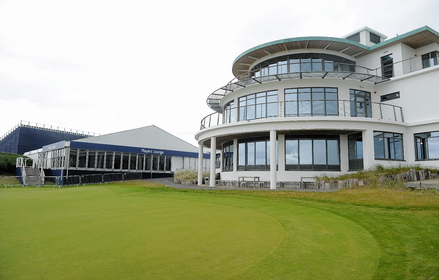 Police have urged motorists to adhere to temporary speed restrictions during the Scottish Open