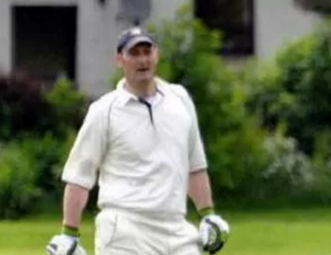 Cricketer Kenneth MacLeod