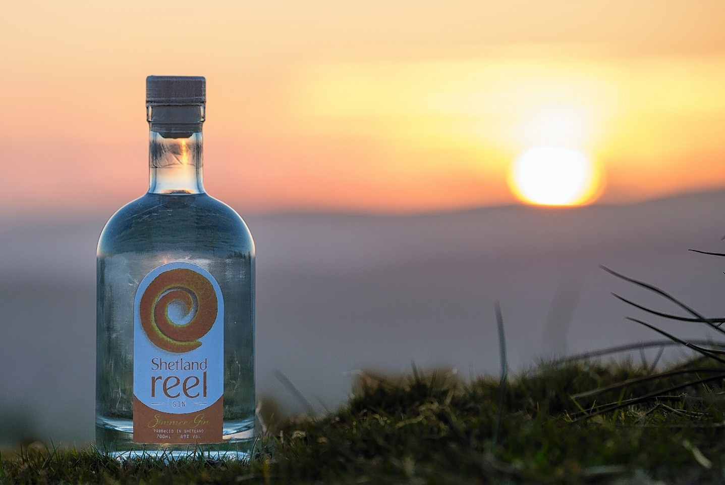 The gin is the fourth to be produced to date by the UK's most northerly distillery,