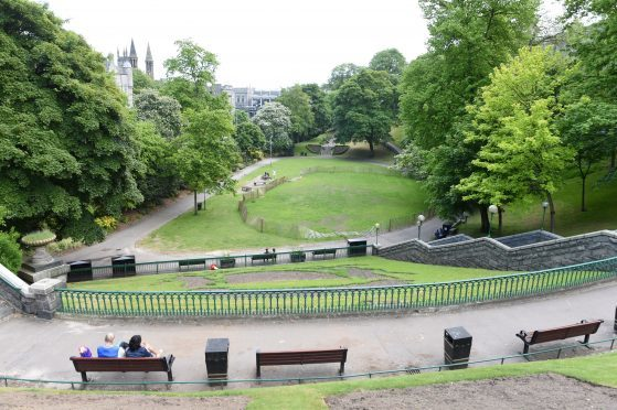 A cycling village will be created at Union Terrace Gardens for the Tour Series.