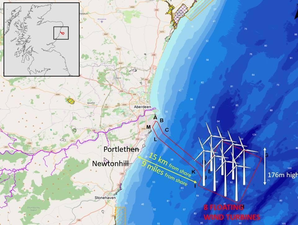 The Kincardine offshore Windfarm