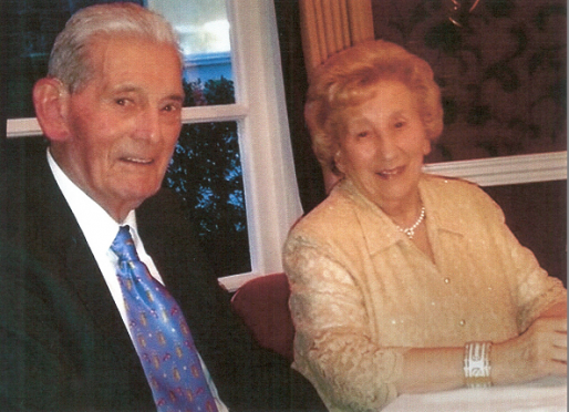 Bill Coutts and his wife, Jenny