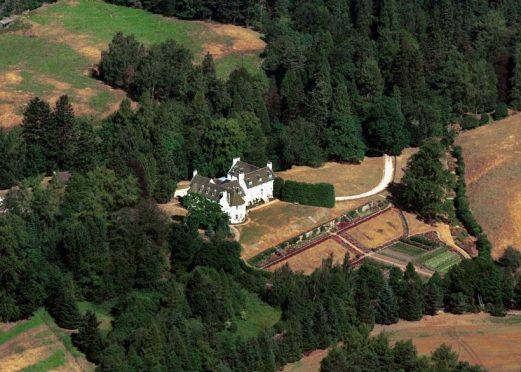 Birkhall, Prince Charles' Aberdeenshire home